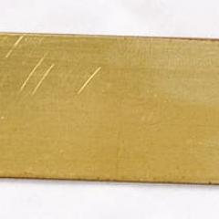 Rectangular Brass Valve Tags