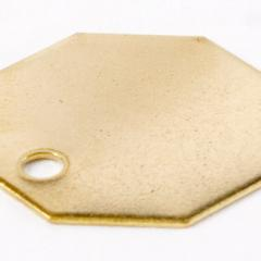 Custom Brass Tag Shape