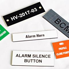 Custom Engraved Plastic Tags